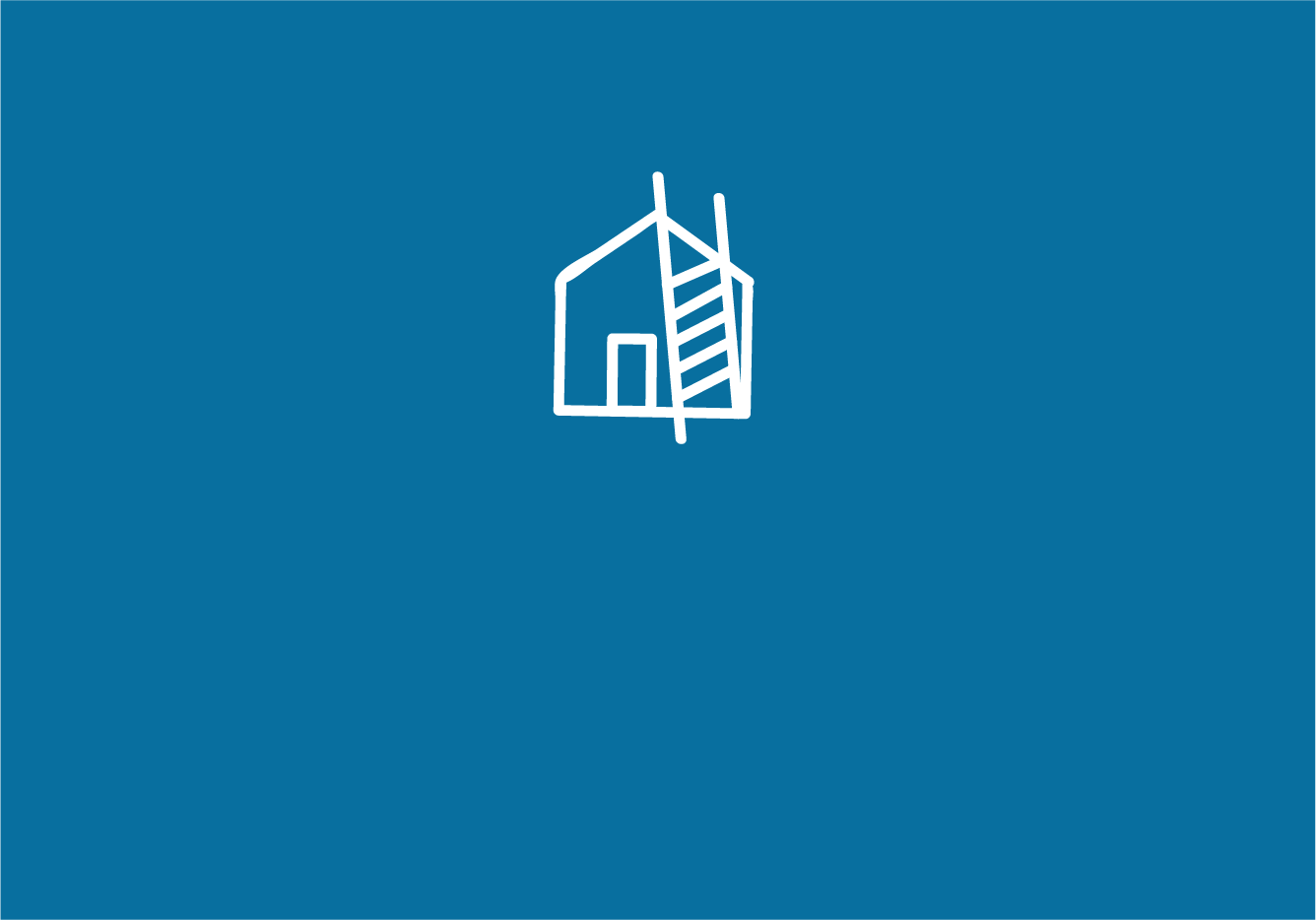 House with Ladder Icon